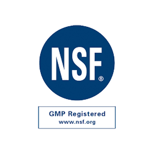 NSF GMP Certification for Manufacturing Site